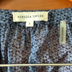 Rebecca Taylor Tops - Rebecca Taylor Silk Pinwheel Blouse 6